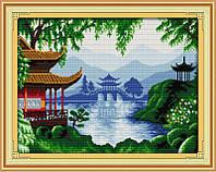 Набор для вышивания Идейка Красота Востока (ide_F179) 54 х 42 см