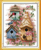 Набор для вышивания Идейка Птичкин дом (ide_F190) 37 х 44 см