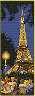 Набор для вышивания Идейка Ночной Париж (ide_F214) 21×50 см