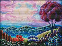 Набор для вышивки Идейка Фантастический пейзаж 1 (ide_F313) 46×37 см