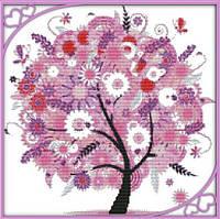 Набор для вышивания Идейка Дерево счастья 3 (ide_F370) 44×43 см
