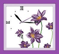Вышивка крестом Идейка Часы. Цветочный аромат (ide_G012) 38 х 35 см