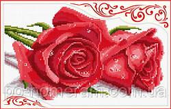 Вышивка крестиком Идейка Розы  (ide_H016) 36×25 см