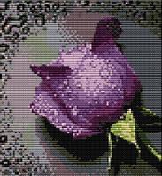 Набор для вышивки Идейка Сиреневая роза (ide_H023(4)) 30×32 см