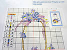 Вышивка крестиком Идейка Цветущий букет (ide_H035) 48 х 42 см, фото 4