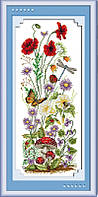 Набор для вышивки Идейка Весеннее настроение (ide_H037) 27 х 57 см