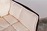 Кресло поворотное Palma, коричнево-бежевое, фото 5