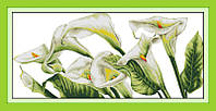 Набор для вышивания Идейка Белые калы (ide_H153) 103 х 52 см
