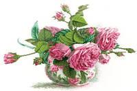 Вышивание крестиком Идейка Розовая фантазия (ide_H314) 51×43 см