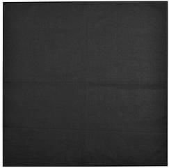 Бандана черная (без рисунка) 55*55 см