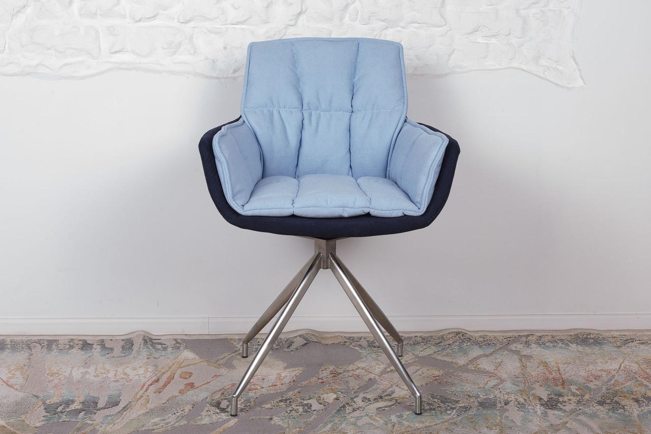 Кресло поворотное Palma, сине-голубой