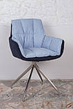 Кресло поворотное Palma, сине-голубой, фото 6