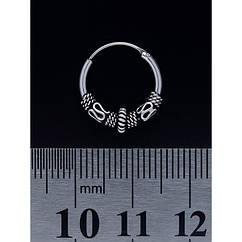 Серьга, кольцо с узором (eas-035)