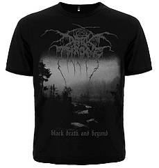 "Футболка Darkthrone ""Black Death And Beyond"", Размер S"