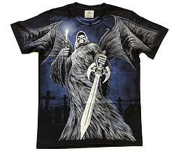 Футболка Смерть с крыльями и мечом, Размер M