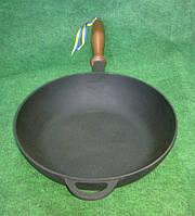 Сковорода чугунная сотейник 240х60 мм.Посуда чугунная.