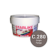 Litokol Starlike Classic Collection С.280 Серый 5 кг двухкомпонентная фуга для затирки STRGFN0005, фото 4