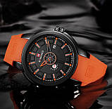 Мужские наручные кварцевые часы Naviforce NF9107-BBO, фото 3