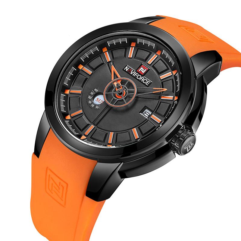 Мужские наручные кварцевые часы Naviforce NF9107-BBO