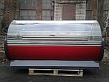 Холодильная витрина 2 м. Технохолод б/у, холодильный прилавок б/у, гастрономическая витрина б у, фото 6