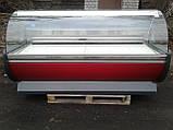 Холодильная витрина 2 м. Технохолод б/у, холодильный прилавок б/у, гастрономическая витрина б у, фото 2