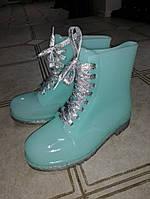 Ботинки женские силиконовые  р. 36-41, фото 1