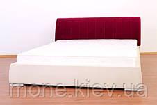 """Кровать """"Морель"""" двуспальная с мягким изголовьем + 2 подушки, фото 3"""