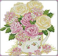 Набор для вышивки Идейка Нежные розы (ide_H348) 39×38 см