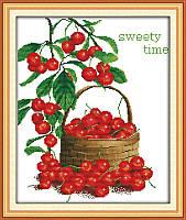 Картина вышивка крестом Идейка Сладкие ягоды (ide_J043) 40 х 47 см