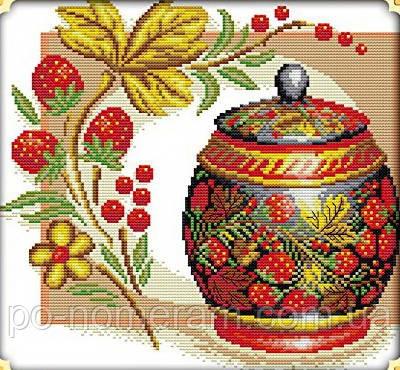 Набор для вышивания Идейка Медовая клубника (ide_J111) 35×33 см