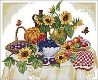 Вышивание крестиком Идейка Осенний натюрморт (ide_J117) 45×39 см