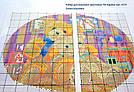 Вышивка крестиком Идейка Песик и бабочка (ide_K163) 30 х 30 см, фото 3