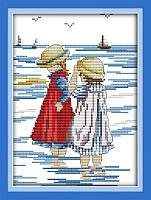 Вышивка крестиком Идейка Прогулка по морю (ide_K210) 28 х 35 см