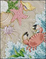 Вышивка крестиком Идейка Морское побережье (ide_K593) 39×47 см