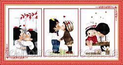 Вышивка крестиком Идейка Сладкая любовь (ide_R162) 69 х 36 см