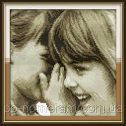 Набор для вышивки Идейка Детские секреты (ide_R354) 35 х 35 см