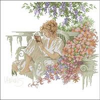 Набор для вышивания Идейка Наедине с книгой (ide_R445) 53×50 см