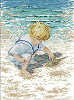 Вышивка крестиком Идейка На побережье 1 (ide_R481) 40×52 см