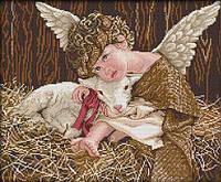 Вышивка крестиком Идейка Ангелочек (ide_R510) 45×39 см