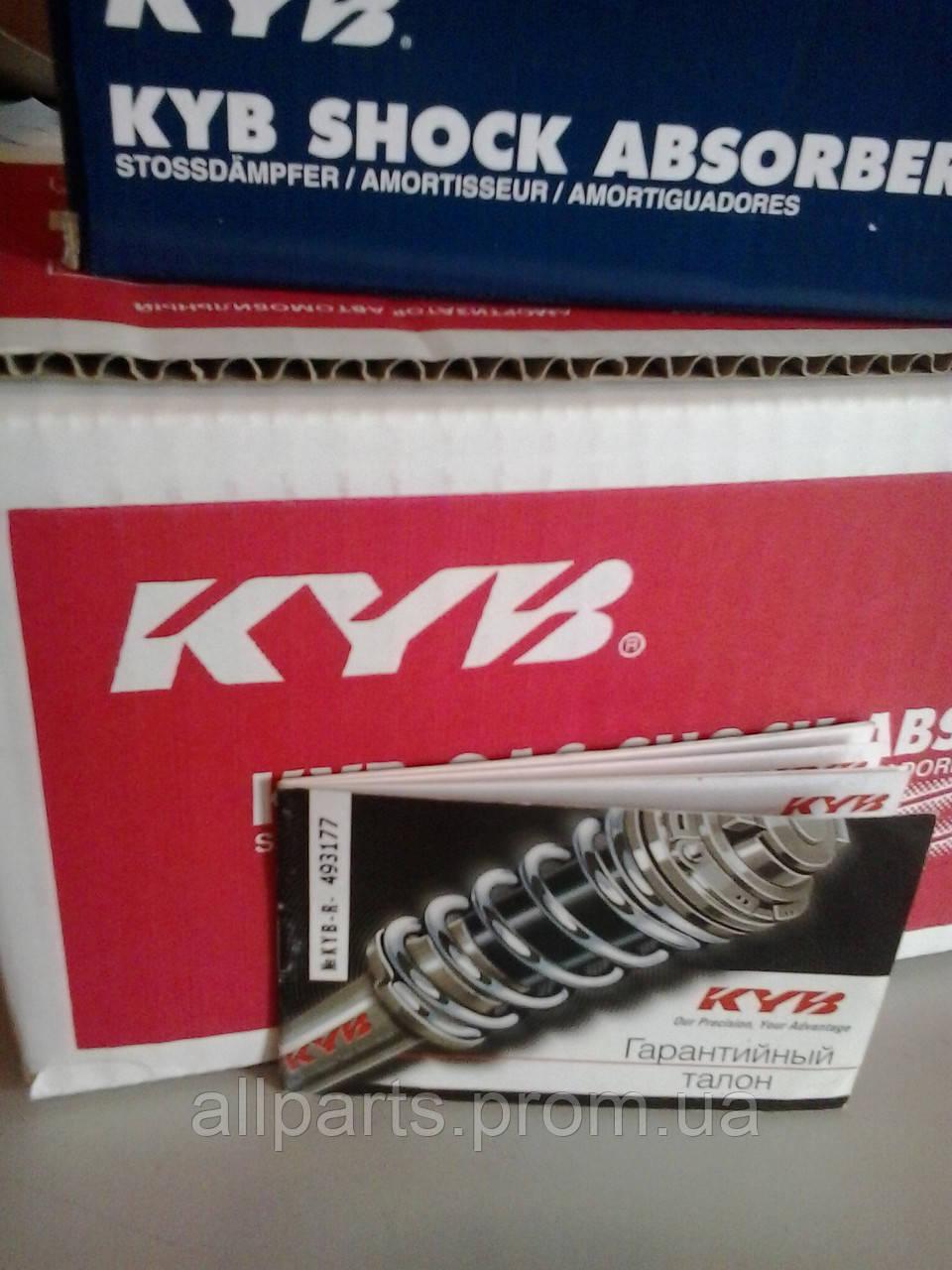 Условия гарантии на официальные (оригинальные) амортизаторы производителя Kayaba (KYB, Каяба)