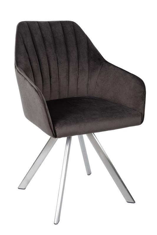 Кресло поворотное Galera, антрацит