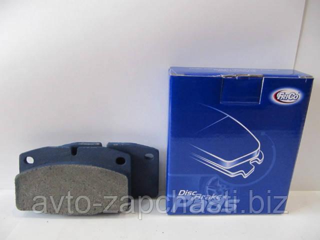 Колодки тормозные WVA 20939 Daewoo Nexia,Opel Kadet,Vectra(A),Omega(A) передние (пр-во Фрико) (173 FC)