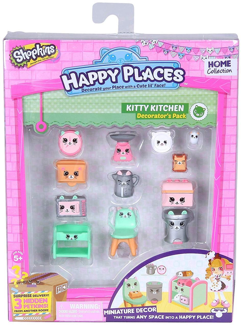 Шопкинс Игровой набор мебель для кухни китти  Shopkins Happy Places Shopkins