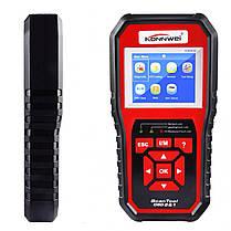 ϞAdapter KONNWEI KW850 цветной экран 2.8 дюйма OBD 2 XP WIN7 WIN8 WIN10 определение напряжения батареи, фото 3