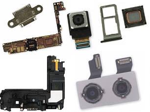 Шлейфы, коннекторы, микросхемы, кнопки и прочие запчасти