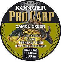 Леска карповая  Konger Pro Carp Camou Green 600 m, фото 1