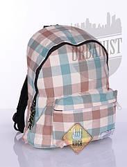 Рюкзак Full Plaid Brown Blue
