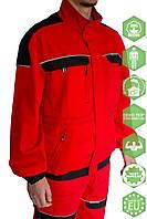 Куртка COOL TREND червоно-чорна