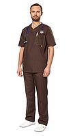 Мужские медицинские костюмы: современная альтернатива белым халатам