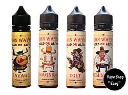 John Wayne 60 ml Премиум жидкость для элекронных сигарет.